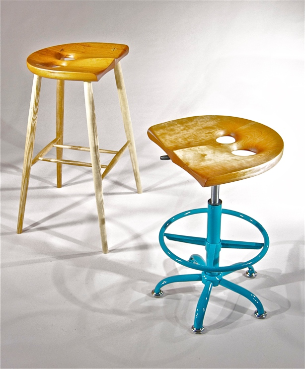 Saddle Bar Stool Woodworking Plans Plans Diy How To Make Thundering85dnj