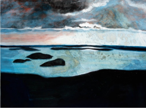 """©Katy Allgeyer """"Approaches to Blue Hill Bay"""""""