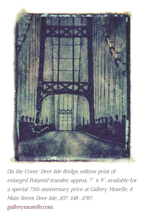 Artist Maureen Farr has captured the essence of the bridge.
