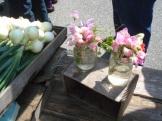Hackamatack Farm sweet pea bouquets.