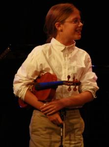 Deer Isle-Stonington violinist Rylee Eaton was a Bud Carter Music Scholarship winner in 2013. Photo courtesy Opera House Arts.